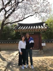 My sister and I in Seoul (3/2019)