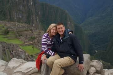 Chris & Patty at Machu Pichu