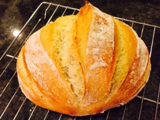 I love to bake, especially bread!