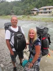 Backpacking in Sumatra.