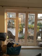 Living room/ balcony