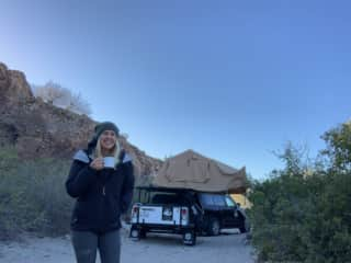 I spent a week and a half camping along beaches and in the desert of Mexico this February.
