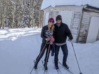 Skiing Outside Ouray