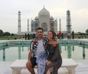 Traveling to places like the Taj Mahal is life changing!