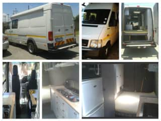 Sybil in SA, Ron built her into a camper