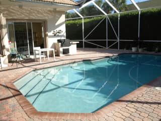 Pool and grill