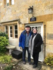 Randy and Sue in the Cotswolds
