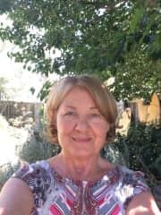 Eileen in my garden