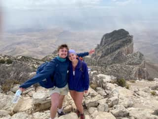 We hiked the tallest peak in Texas at Guadalupe Mountains National Park