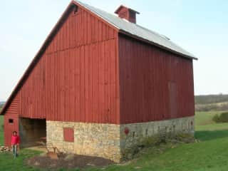 The Barn in Illinois before