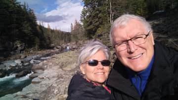 Hiking in Banff National Park, Alberta, Canada before COVID