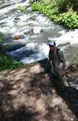 Dale on Klamath River