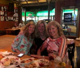60th Birthday with two of my besties