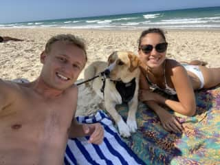 Beach day with Peggy from Brisbane