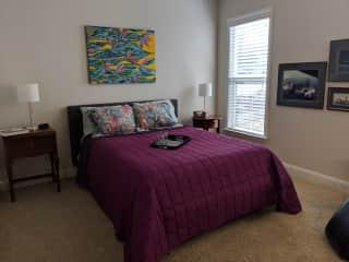 Your Bedroom in guest suite
