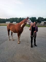 Learning equine-facilitated therapy at Prance Miramichi Farms