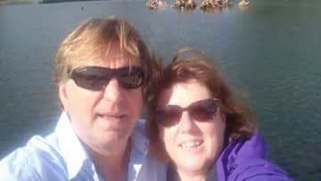 Cherie and Ian