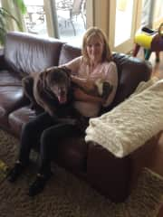 Ochauchee, WI...hanging out w Kota and Thumper!!