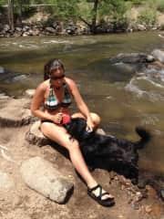 Zipper at the Boulder Creek
