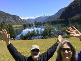 John & Mindy in South America