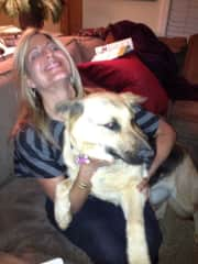 Jay doggie and myself playing and having fun !
