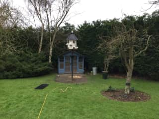 Our Dove House and Dove Cot