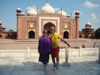 Dancing at Agra