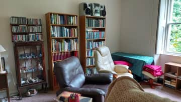 Living room.  Feel free to have a read.