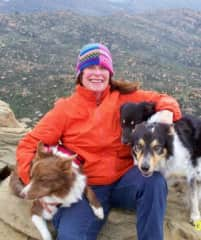 Me and 3 dogs
