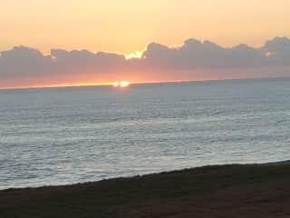 Sunrise at Bonville Headland