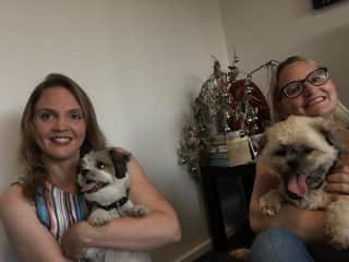 Kassi and Kodi were our hosts during Christmas time in 2018, in Australia