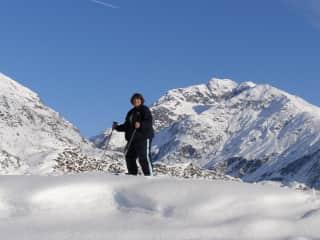Cross Country skiiing in Alaska