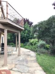 Deck, patio