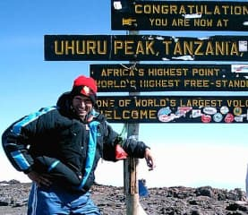 A Little Hike to the Top of Kilimanjaro in Tanzania