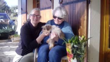 Me mum and Spirit our 1st Phoenix Assoc foster Feb 2017