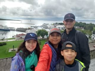 The Lindsey Family. Casey, Jessica, Marissa, and Evan.