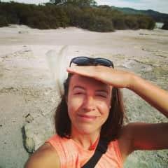 Me in Rotorua, NZ