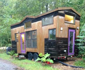 Fun fact... I designed and lived in this tiny house on wheels in North Carolina.