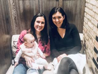 Me with my sister and my niece