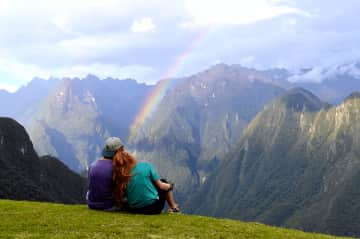 We love to hike and travel the world together.