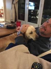 Foster Krissy loving Rob