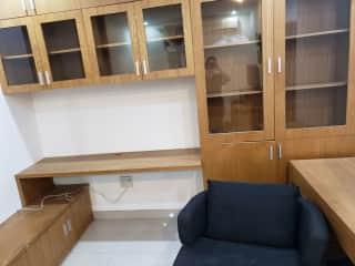 Office Space in main bedroom