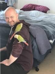 Brendon and birdies
