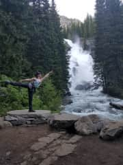 Mary's two passions: dance and the outdoors