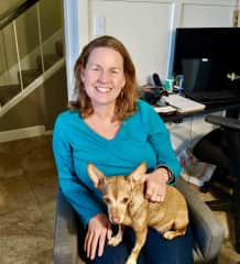 Amy and Penny in Burbank, California