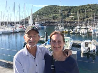 Bill and Alice in the Azores
