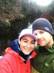 Newlyweds in Glasgow, UK