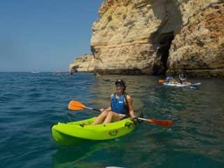 Kayaking near Faro