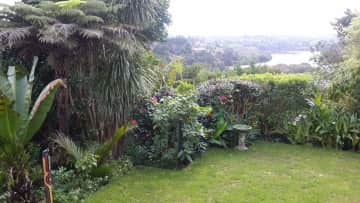 Our front garden with views