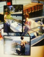 Me readying Ms. Independent (my boat) for a ride on the River.